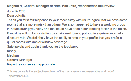 Hotel San Jose TripAdvisor Review