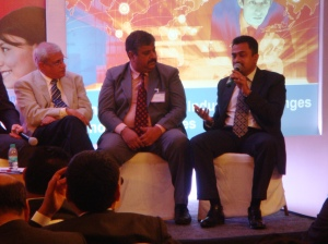 Panel Discussion  at the hospitality industry summit organized by IDS Next and RezNext held in Delhi